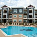 Phillips Research Park Apartment Building and Pool