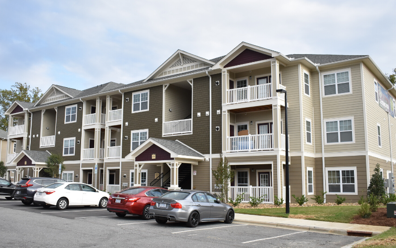 exterior of apartment building | Phillips Mallard Creek